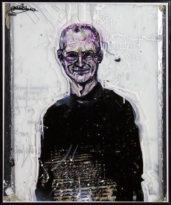 Steve Jobs por NicholaiKHAN